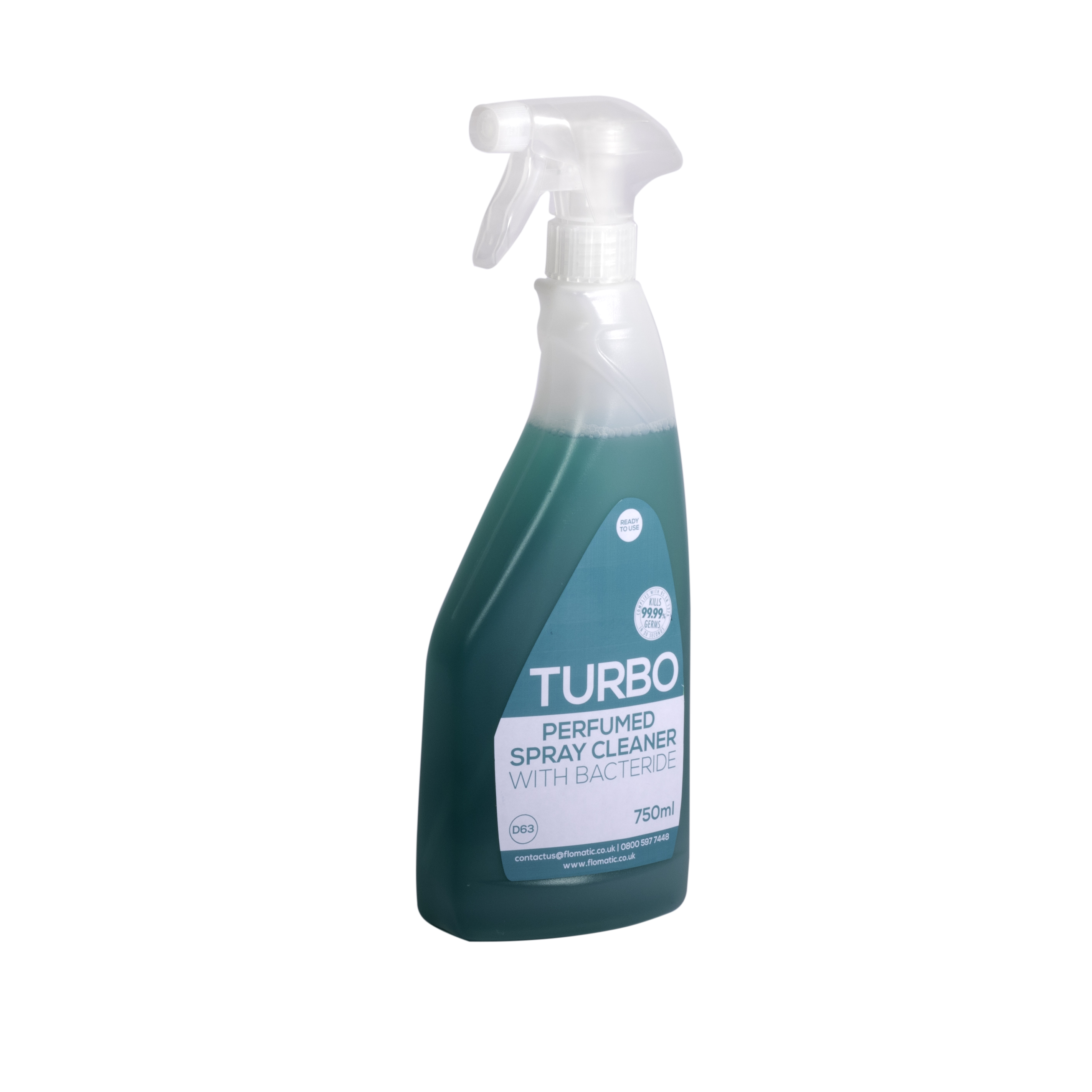 TURBO Perfumed Spray Cleaner With Bactericide