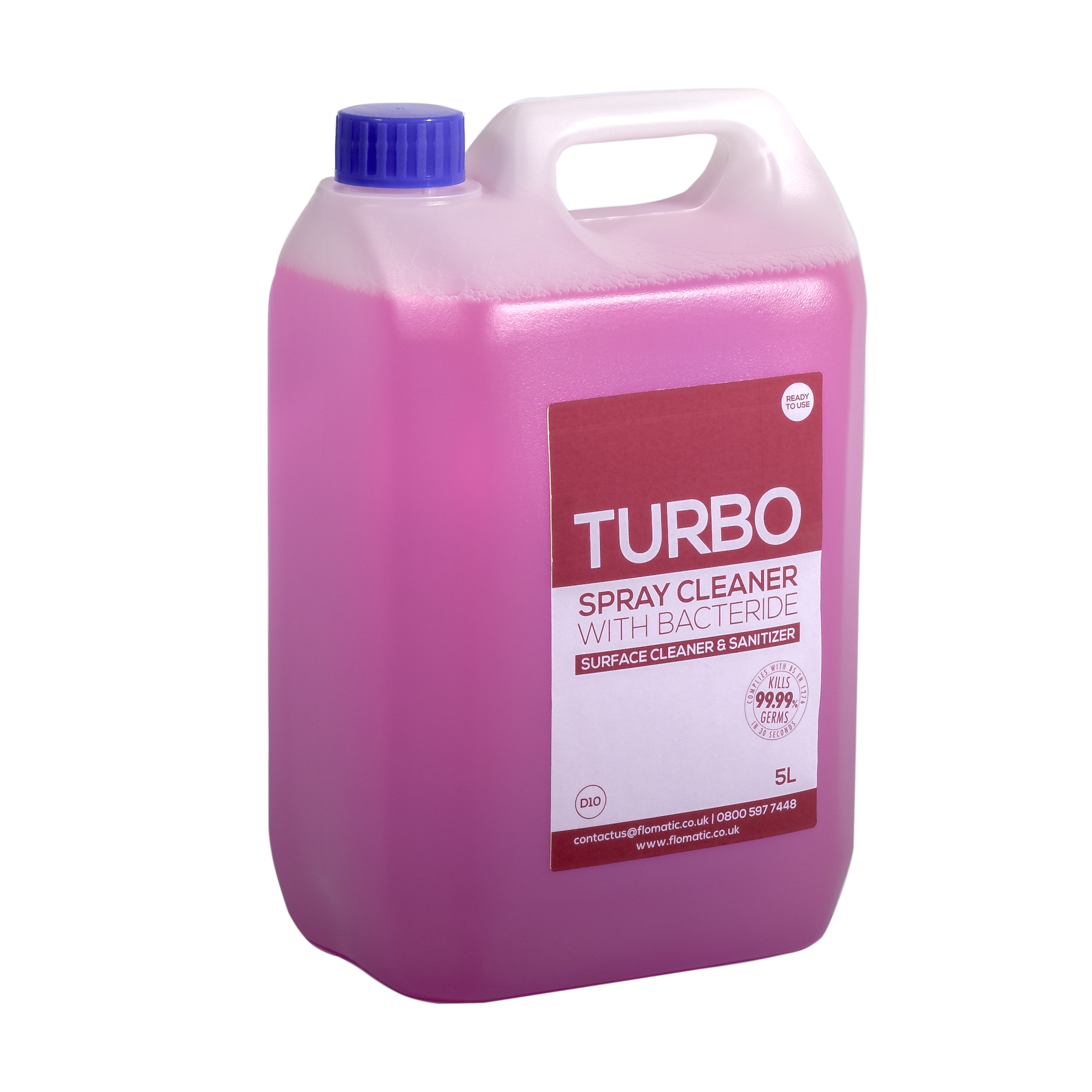 TURBO Spray Cleaner With Bactericide